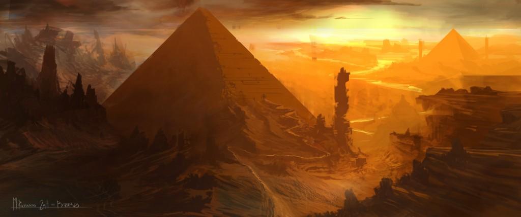DA_sunset_pyramids_72dpi_by_butteredbap-d5xpnks-1