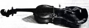 Violin emits Hebrew states